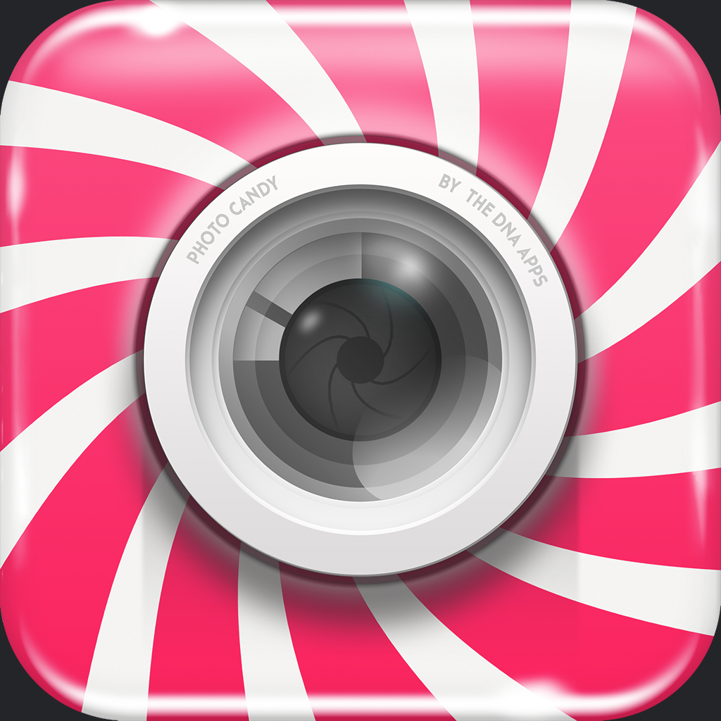Photo Candy - Add Shapes and Patterns to your photos by DNA Apps LLC icon